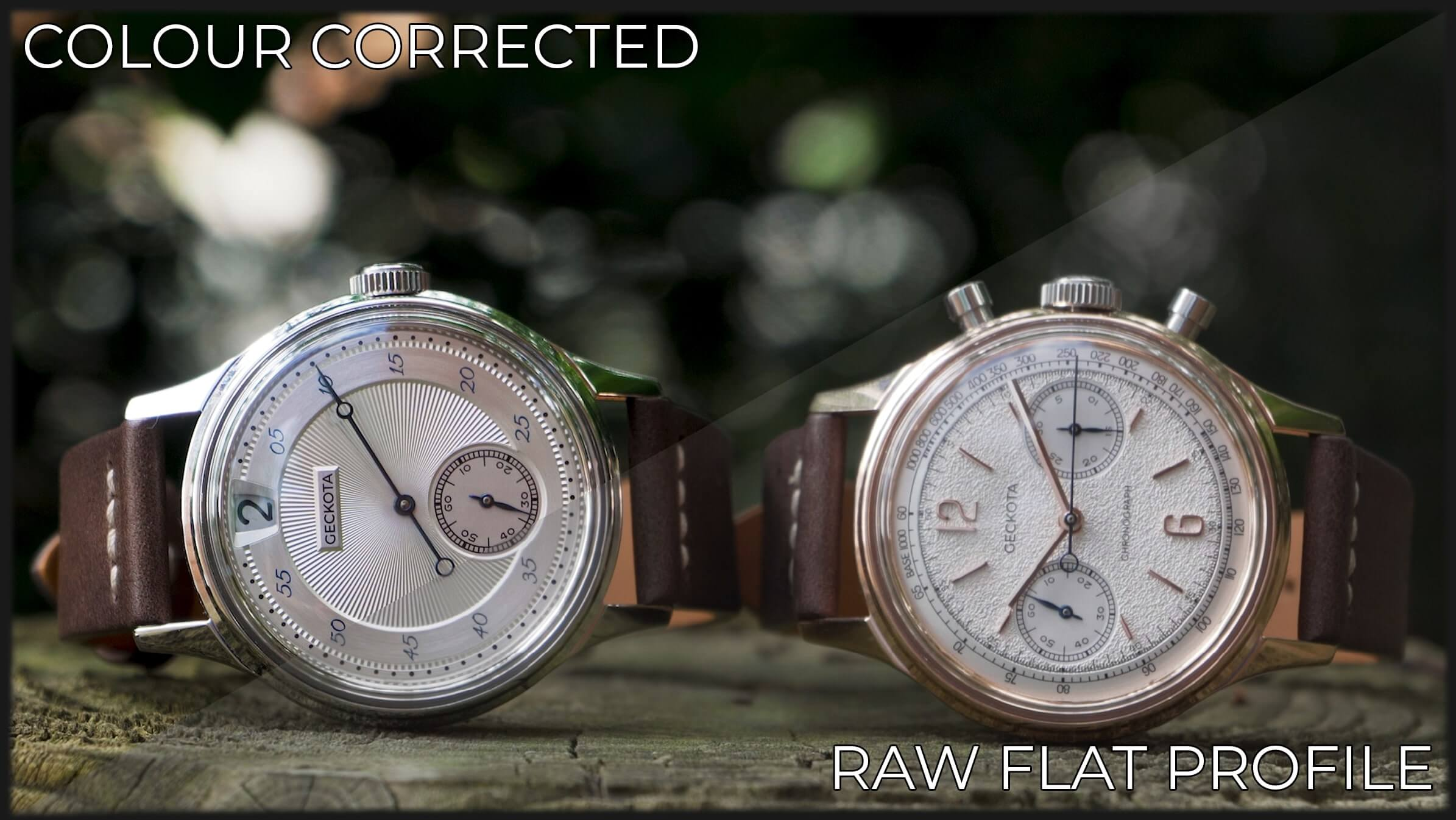 Comparing Colour Correction to the Flat Picture Profile
