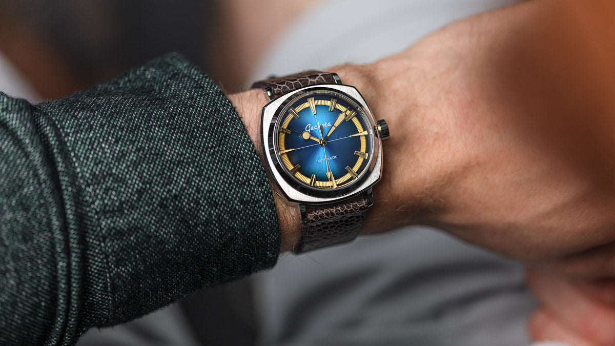 The Geckota G-01 Arctic Edition in Blue