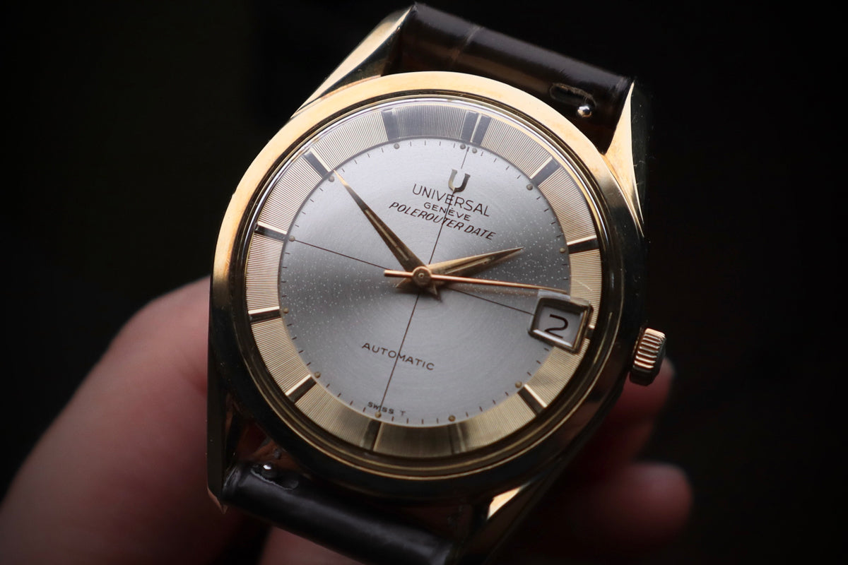 An early Universal Genève Polerouter Date, circa 1965