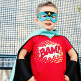 Black Armbands - Superhero Accessory