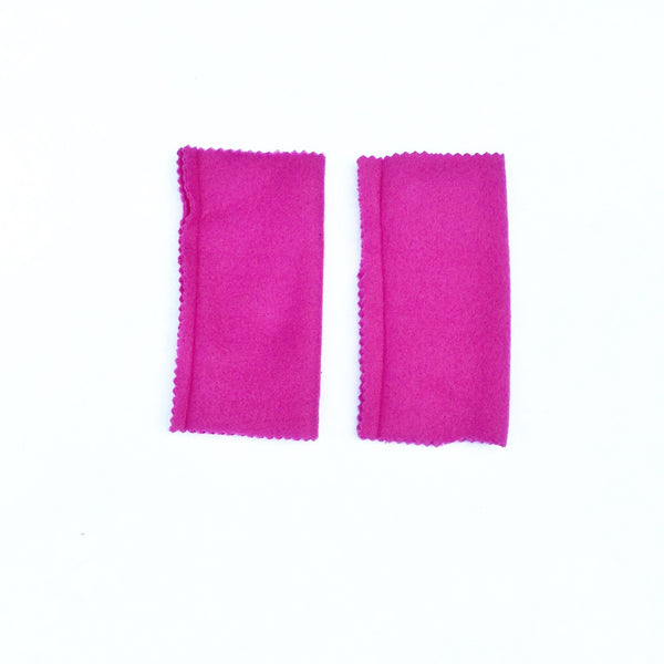 HOT PINK ARMBANDS Superhero accessory - for Super Hero birthday gift - Your Choice of Color