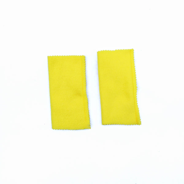 YELLOW ARM-BANDS Superhero accessory - for Super Hero birthday gift - Your Choice of Color