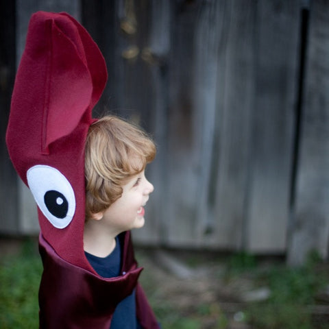 Giant Squid, Kraken, Octopus cape costume