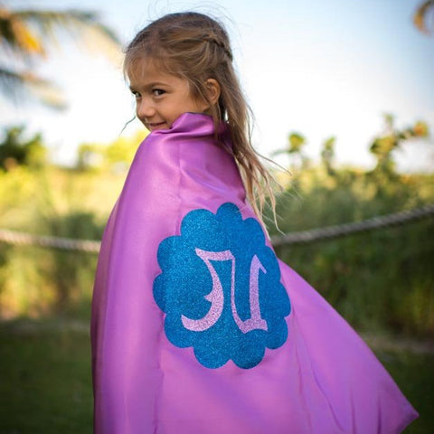 Anna Costume Cape With Personalized Glitter Letters