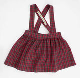 The Andi MINI Trouser Skirt- Classic Red Plaid