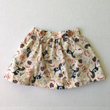 The Clara Removable Bib Skirt- Folk Horse