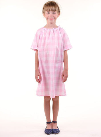 *** ON SALE *** The Eva Tunic- Light Pink Gingham