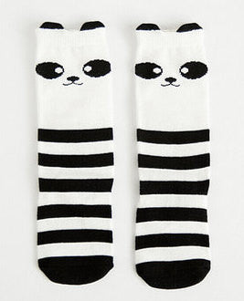 Cute Knee High Animal & Star Socks