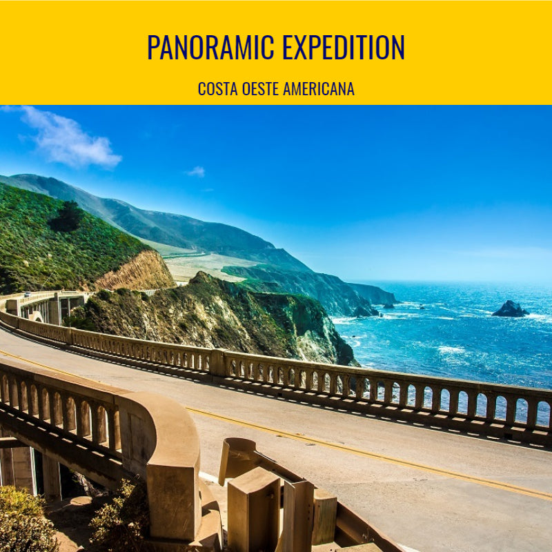 Panoramic Expedition - 11 dias Costa Oeste Americana -  de 01 a 11 de Agosto 2018