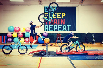 Danny MacAskill Hits the Gym Like You've Never Seen Before