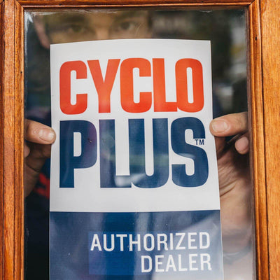Cycleworx Trusts Cyclo Plus - The Experts in Bike Parts