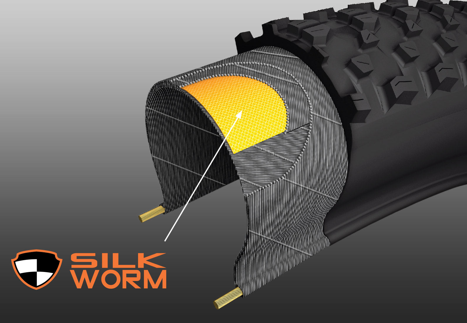 Maxxis Tyres Technology - Silkworm Puncture Technology
