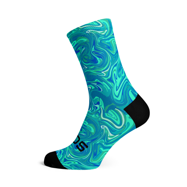 Sox Footwear | Marble Blue Socks