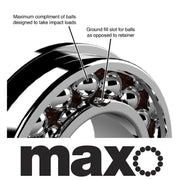 3800 2RS MAX | 10 x 19 x 8mm Bearing by: Enduro
