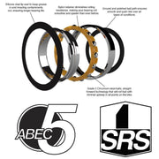 61808 SRS | 40 x 52 x 7mm Bearing by: Enduro