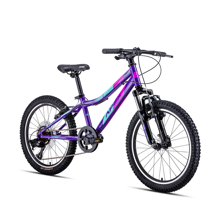 A200 Girls I 20 inch Alloy MTB by: Apex