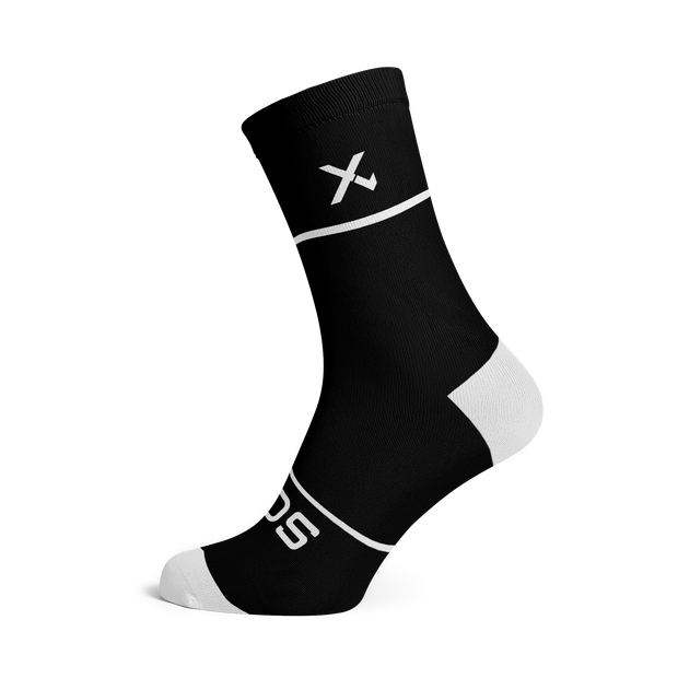 Sox Footwear | Premium Knit Black Socks