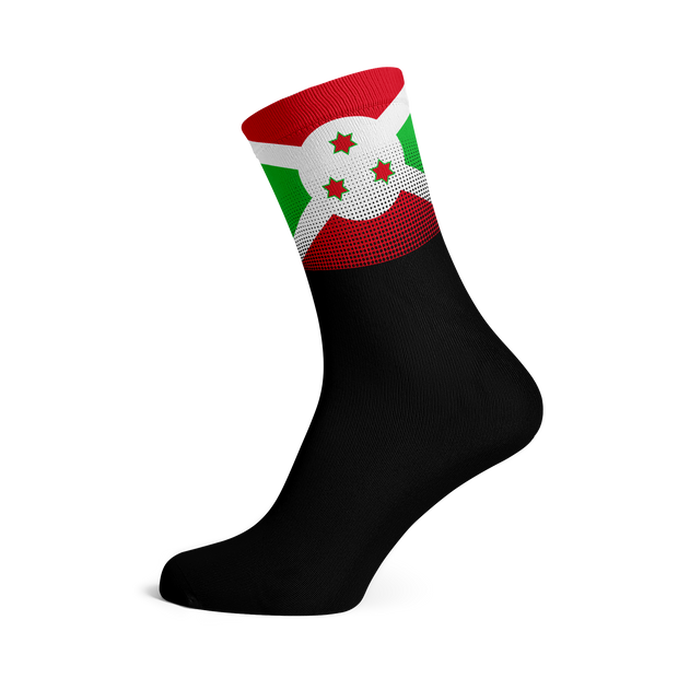 Sox Footwear | Burundi Flag Socks