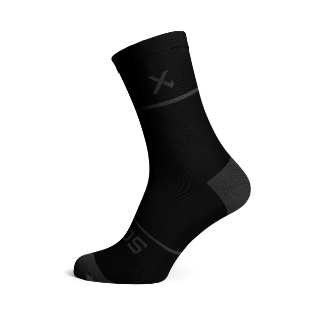 Sox Footwear | Premium Knit Charcoal Socks