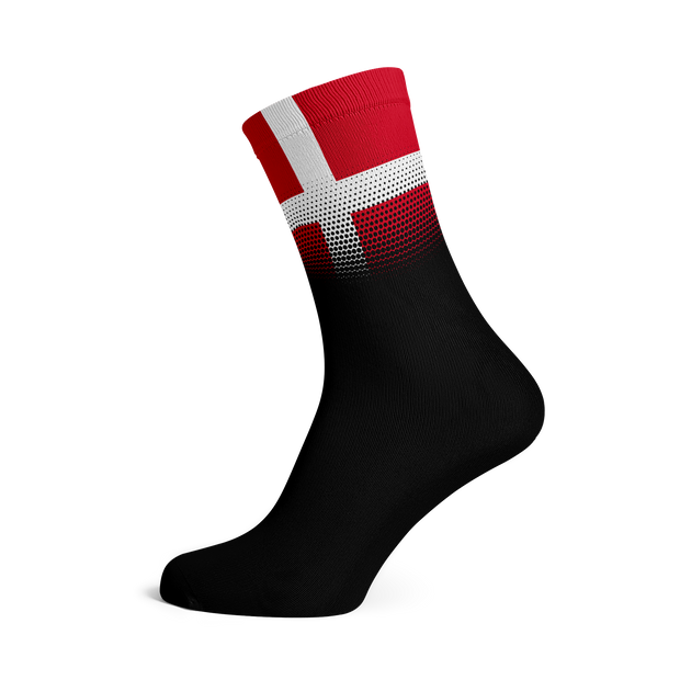 Sox Footwear | Denmark Flag Socks