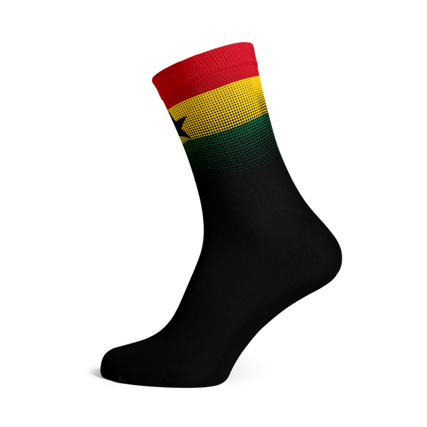 Sox Footwear | Ghana Flag Socks