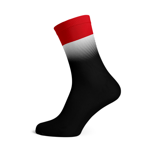 Sox Footwear | Indonesia Flag Socks