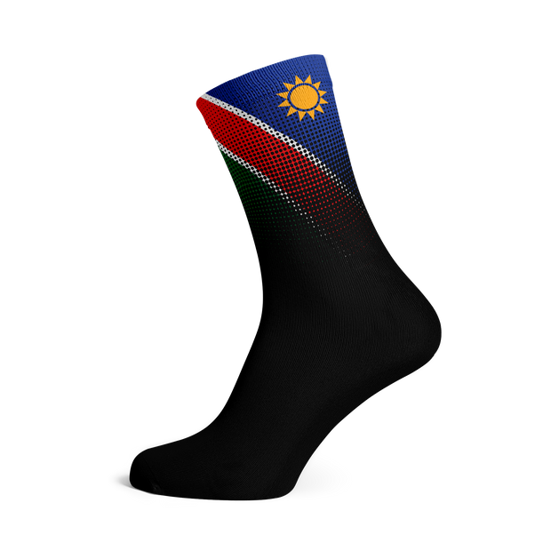 Sox Footwear | Namibia Flag Socks