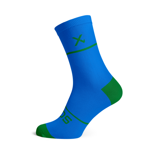 Sox Footwear | Premium Knit Blue Socks