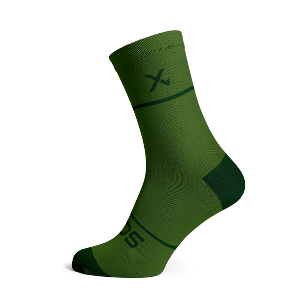 Sox Footwear | Premium Knit Olive Socks