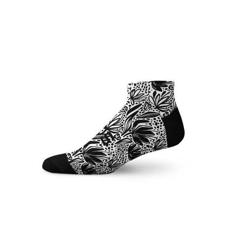 Monochrome Floral by: Sox Footwear