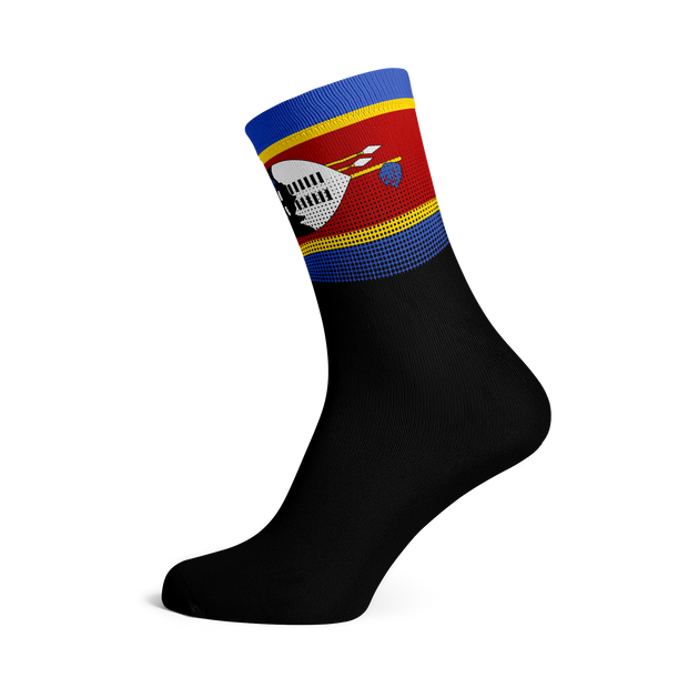 Sox Footwear | Swaziland Flag Socks