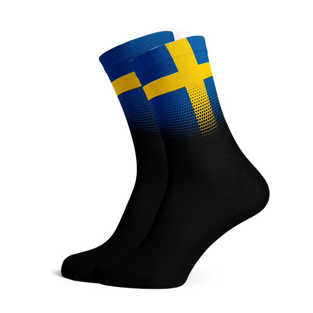 Sox Footwear | Sweden Flag Socks