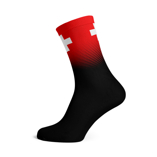 Sox Footwear | Switzerland Flag Socks