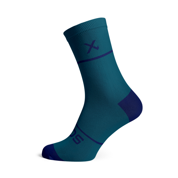 Sox Footwear | Premium Knit Teal Socks