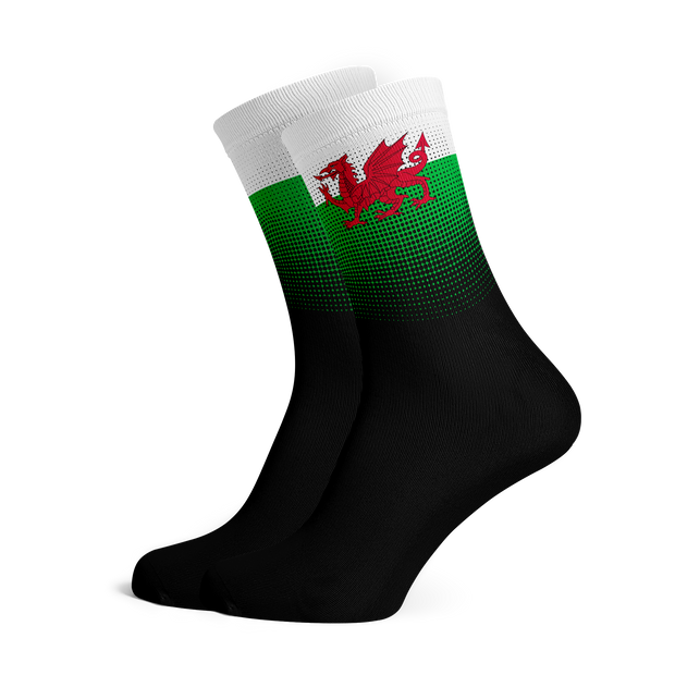 Sox Footwear | Wales Flag Socks
