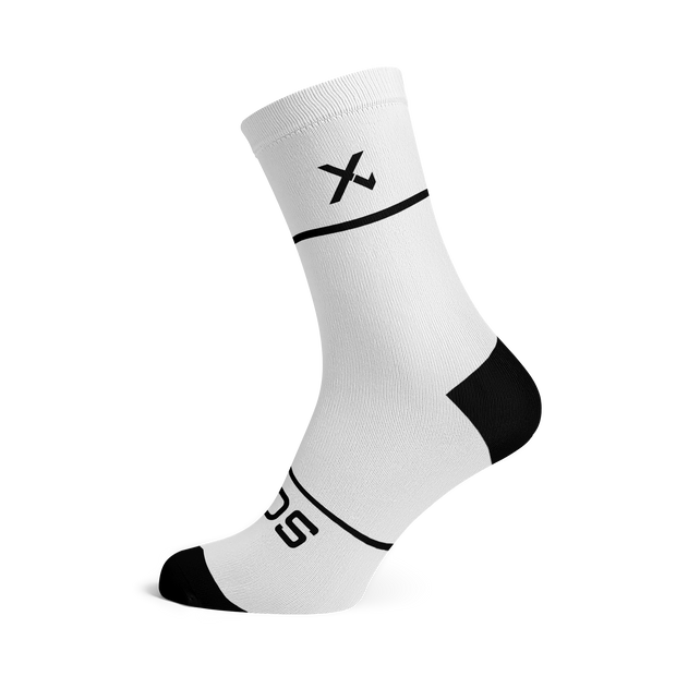 Sox Footwear | Premium Knit White Socks