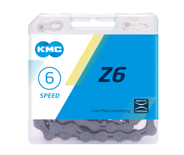 6-Speed Z6 Chain | 116 Links | Boxed by: KMC