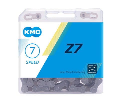 7-Speed Z7 Chain | 116 Links | Boxed by: KMC