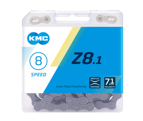 8-Speed Z8.1 Chain | 116 Links | Boxed by: KMC