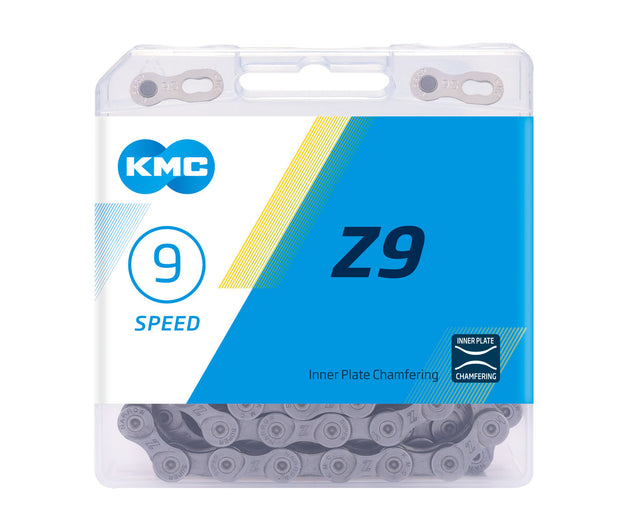 9-Speed Z9 Chain | 116 Links | Boxed by: KMC