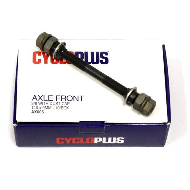 Axle Front-Components & Spares-CycloPlus-3/8 Incl Dust Cap-www.rushsports.co.za