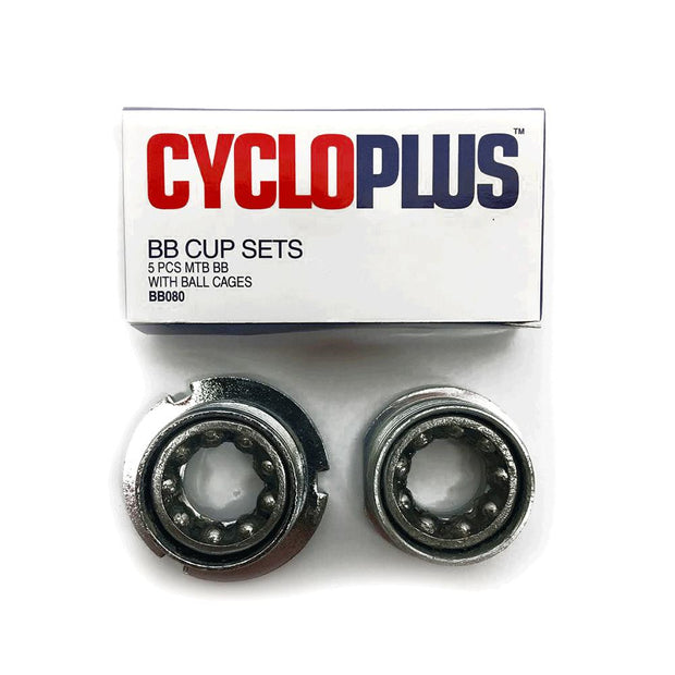 BB Cup Set-Components & Spares-CycloPlus-5-Piece MTB Type-www.rushsports.co.za