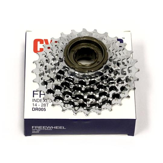 Freewheel Indexed-Components & Spares-CycloPlus-6-Speed 14-28T-www.rushsports.co.za