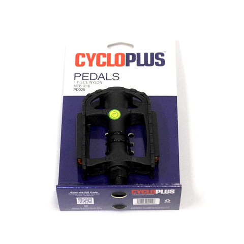 Pedals MTB Nylon by: CycloPlus