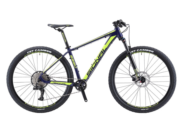 Signal S930-Bicycles & Frames-Signal-Ink Blue / Highlighter Yellow-XL-L-Twoo 1x11-www.rushsports.co.za