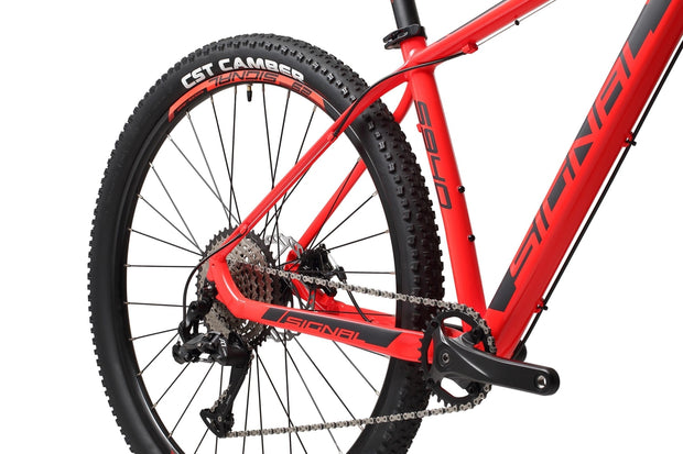 Signal S940-Bicycles & Frames-Signal-Rocket Red / Black-S-L-Too 1x10-www.rushsports.co.za