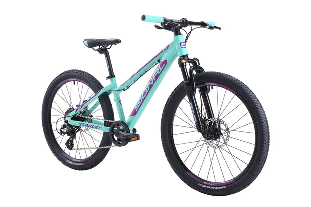 Signal Starlet 24-Bicycles & Frames-Signal-Teal / Purple-Shimano 1x8-www.rushsports.co.za