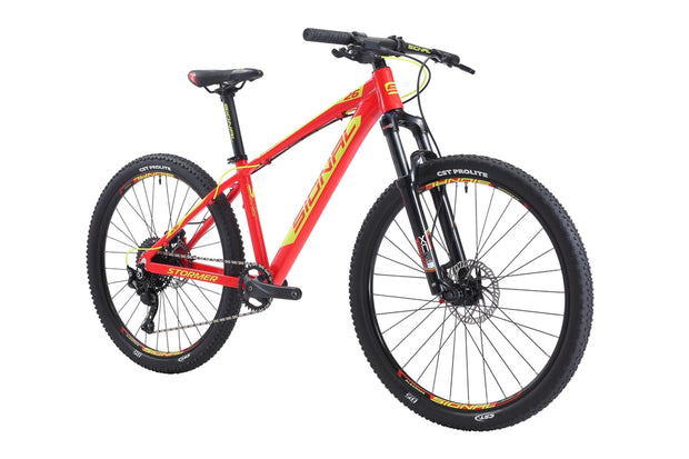 Signal Stormer 26-Bicycles & Frames-Signal-Neon Red / Highlighter Yellow-M-Shimano 1x10-www.rushsports.co.za