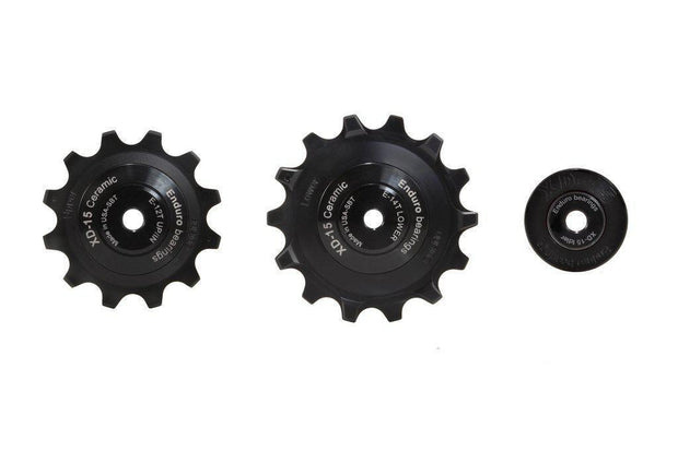 SRAM Eagle Pully Wheels + Cable Roller by: Enduro