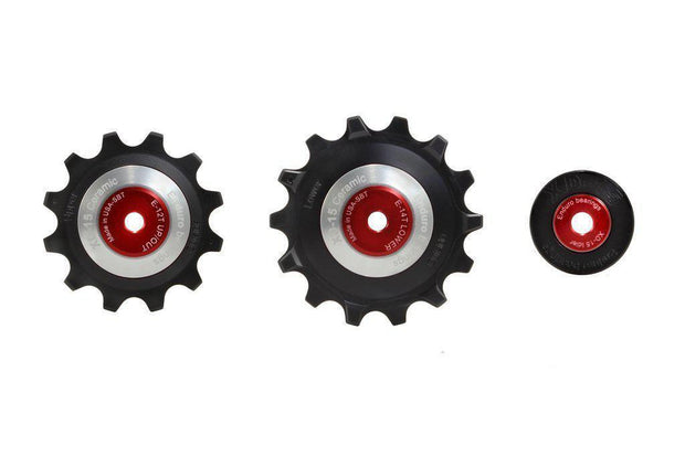 Enduro SRAM Eagle Pully Wheels + Cable Roller by www.rushsports.co.za